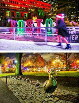 冬のボストンも大賑わい