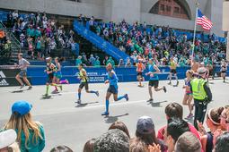 第121回ボストンマラソン 30年振りに日本人が表彰台へ