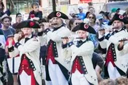ボストンでアメリカの独立記念日を祝うイベントが開催
