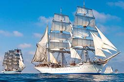 ボストンで帆船の大西洋横断レースが開催